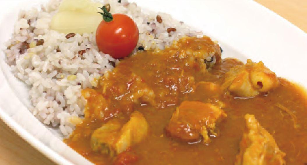 大山鶏の雑穀米カレー