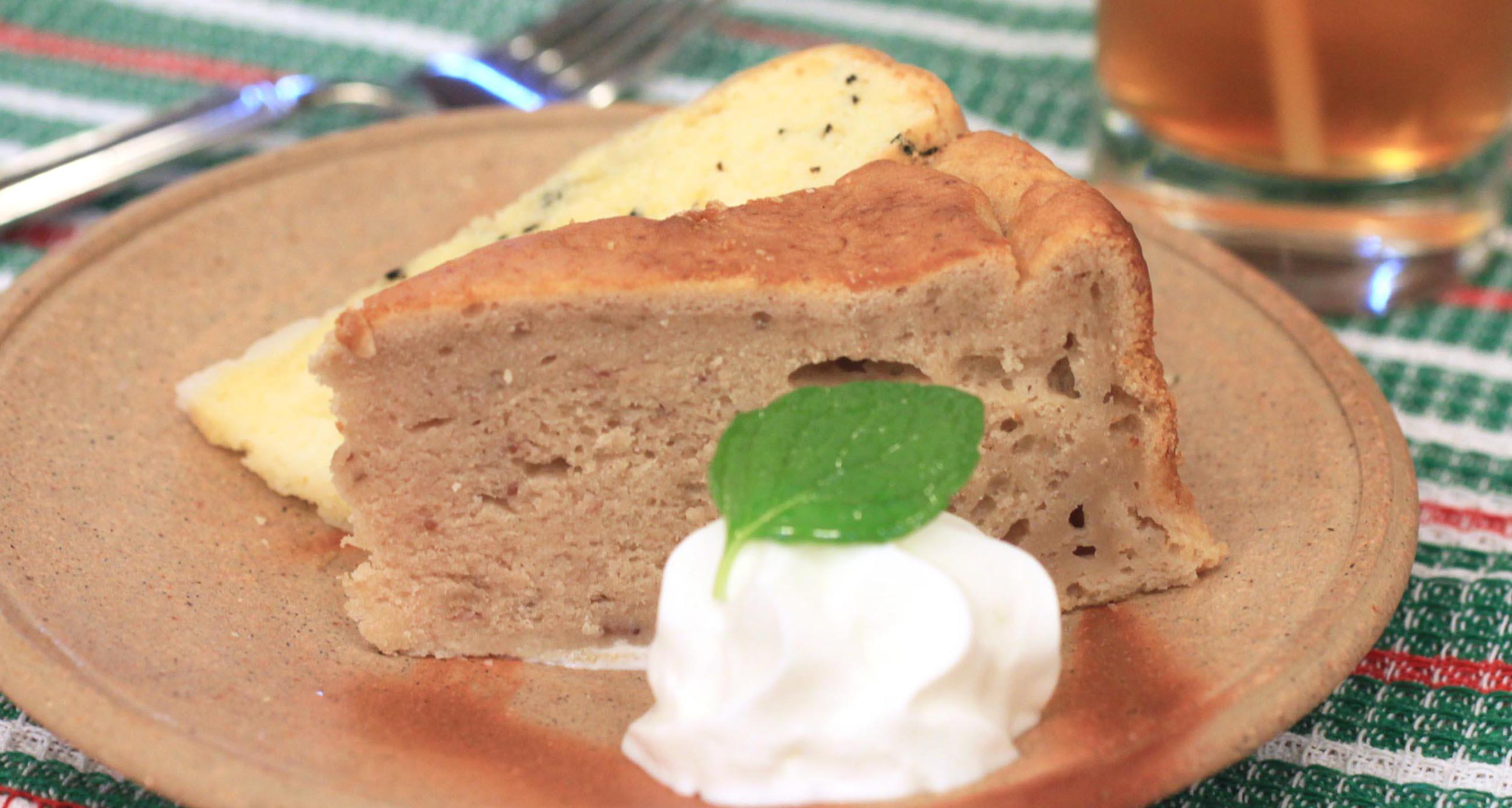 オリジナルケーキ〈ハーフ&ハーフ〉